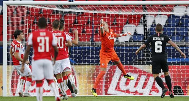 ВУЕФА подозревают ПСЖ иЦрвену Звезду вдоговорном матче— L`Equipe