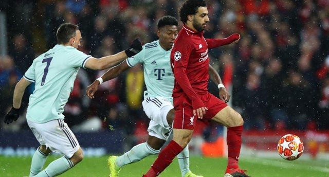 Ливерпуль и Бавария совершили на двоих лишь три удара в створ