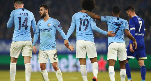 Манчестер Сити — Шальке, Getty Images