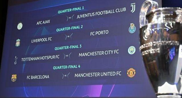 История противостояний всех пар 1/4 финала Лиги чемпионов. Кто успешнее?