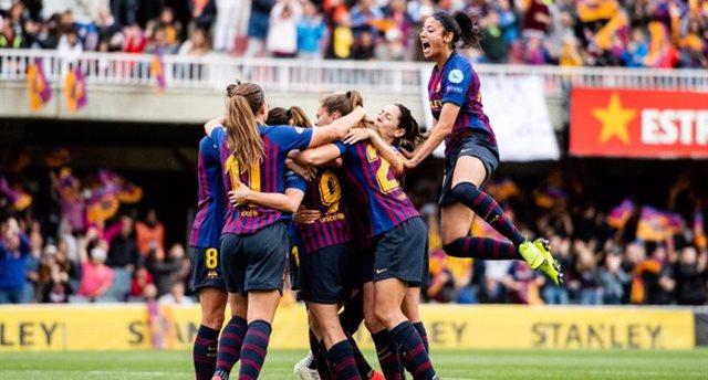Барселона вышла в финал женской Лиги чемпионов