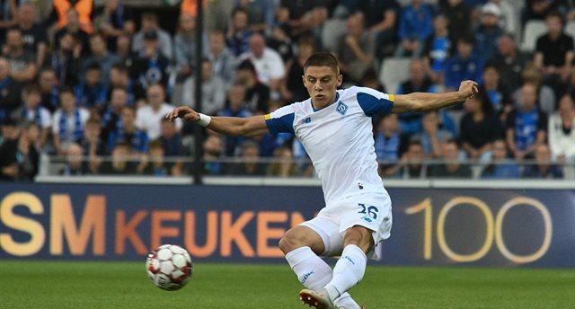 Виталий Миколенко, фото ФК Динамо Киев