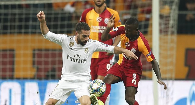 Галатасарай - Реал Мадрид, twitter.com/GalatasaraySK
