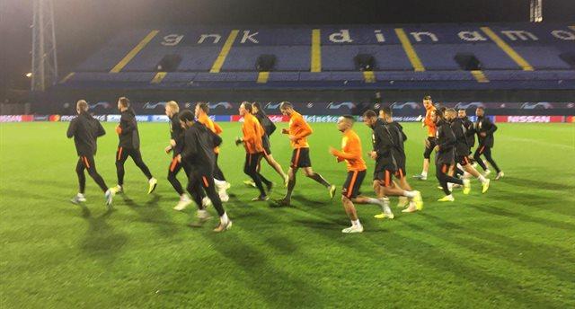 Игроки Шахтера провели тренировку, Football.ua