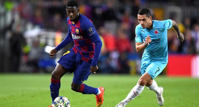 Барселона пробежала на 16,6 километров меньше, чем Славия