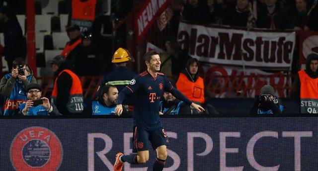 Бавария разгромила Црвену Звезду благодаря покеру Левандовски