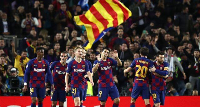 Барселона - участник плей-офф ЛЧ, Getty Images