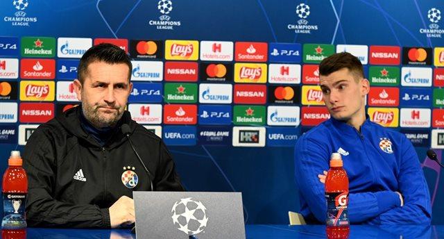 Ненад Белица (слева), фото: УЕФА