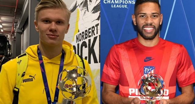 Эрлинг Холанд и Ренан Лоди, uefa.com