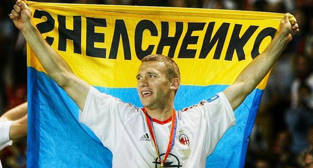 Андрей Шевченко, photo AC Milan