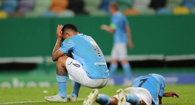 Игроки Ман Сити после матча, Getty Images