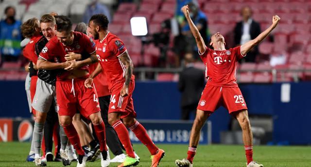 Бавария — первая команда в истории Лиги чемпионов, победившая во всех матчах сезона