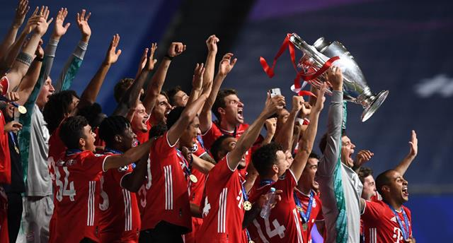 Бавария добыла второй требл, повторив достижение Барселоны
