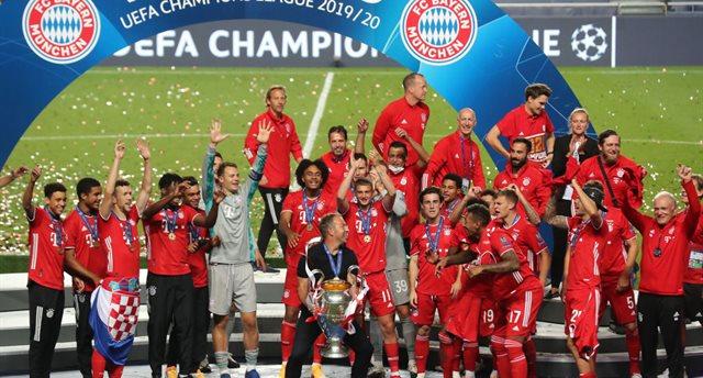 Шестой триумф Баварии: церемония награждения победителя Лиги чемпионов