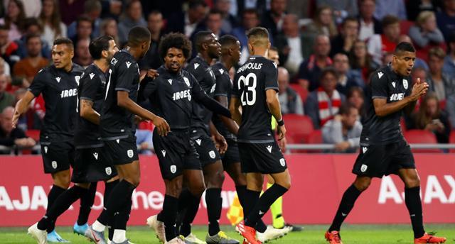 ПАОК выбил Бенфику из Лиги чемпионов