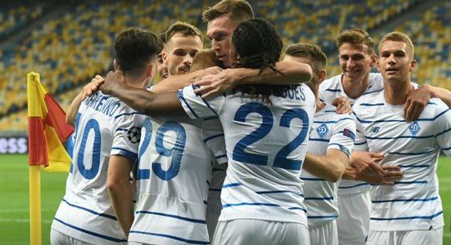 Динамо узнало соперников по группе Лиги чемпионов