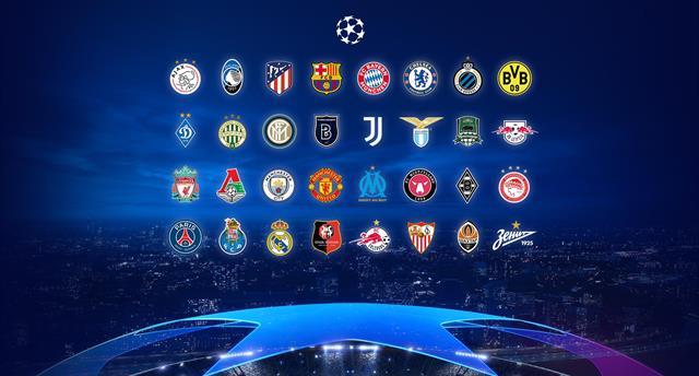 Стали известны все группы Лиги чемпионов-2020/21
