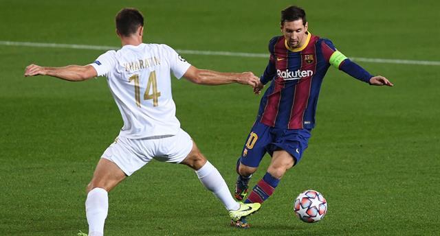Барселона — Ференцварош 5:1 Видео голов и обзор матча