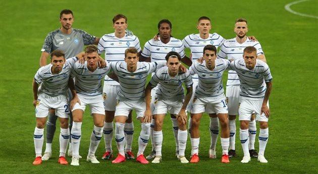 Игроки Динамо, официальный сайт клуба