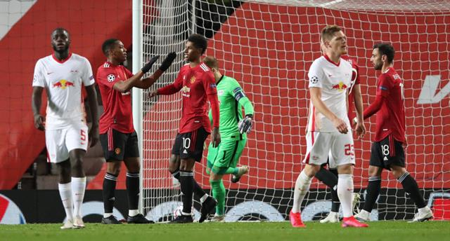 Манчестер Юнайтед — Лейпциг 5:0 Видео голов и обзор матча