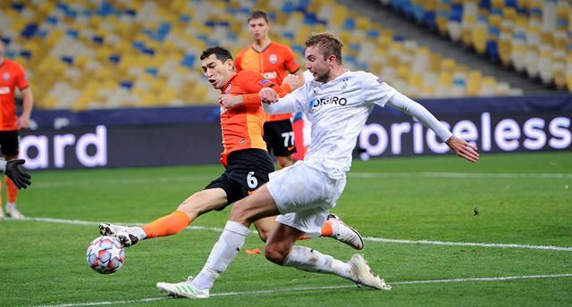 Немецкая команда выиграла в Украине в Лиге чемпионов впервые за 26 лет