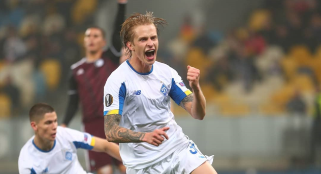 Артем Шабанов, фото ФК Динамо Киев