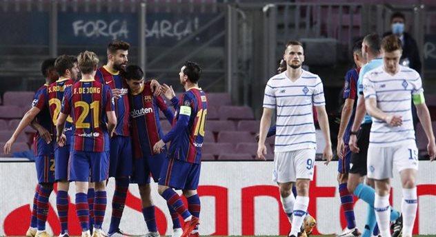 Барселона — Динамо, Getty Images