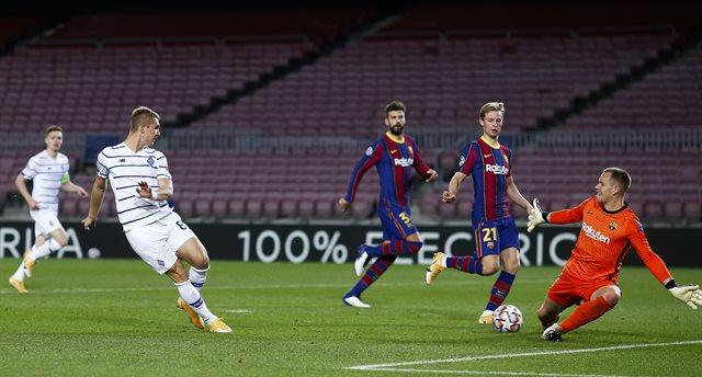 Барселона - Динамо, Getty Images