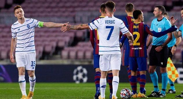 Матч Динамо — Барселона пройдет без зрителей