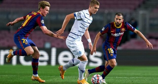 Динамо — Барселона: команды определилась с формами