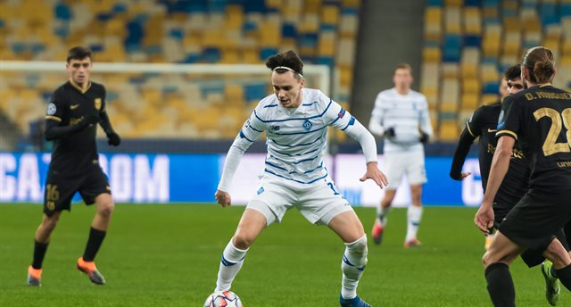 Николай Шапаренко, фото Динамо