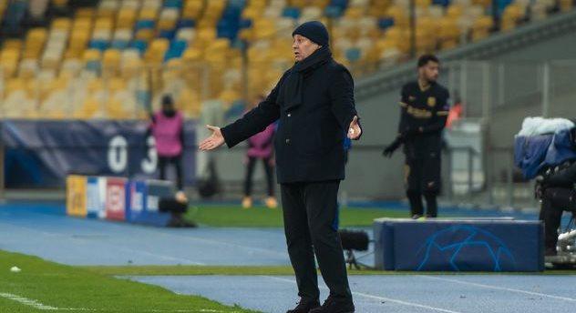 Мирча Луческу, фото ФК Динамо Киев