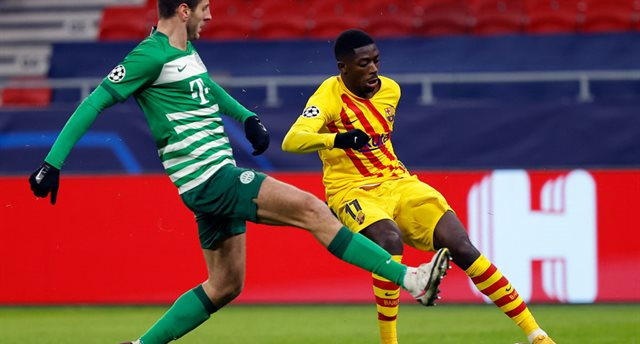 Барселона не оставила шансов Ференцварошу