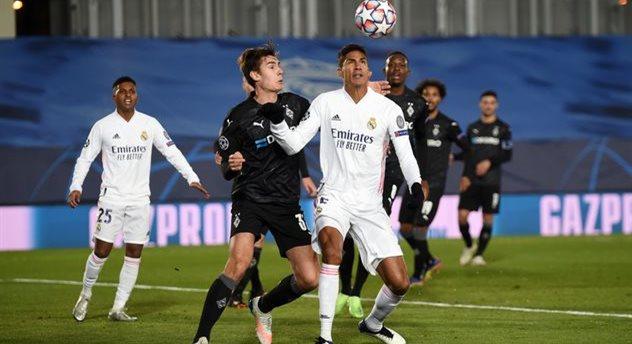 Рафаэль Варан в матче против Боруссии М, Getty Images