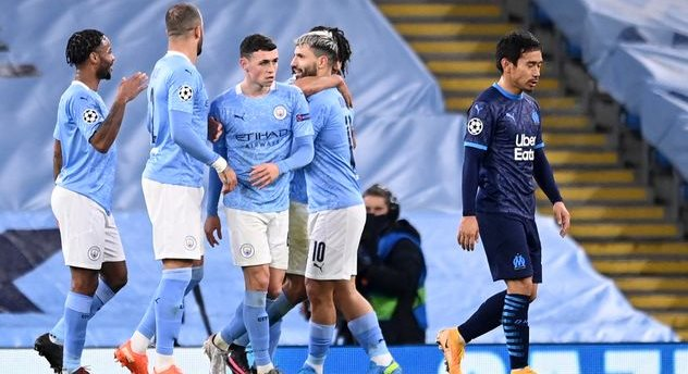Манчестер Сити — Марсель, Getty Images