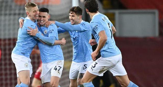 Игроки Манчестер Сити, getty images