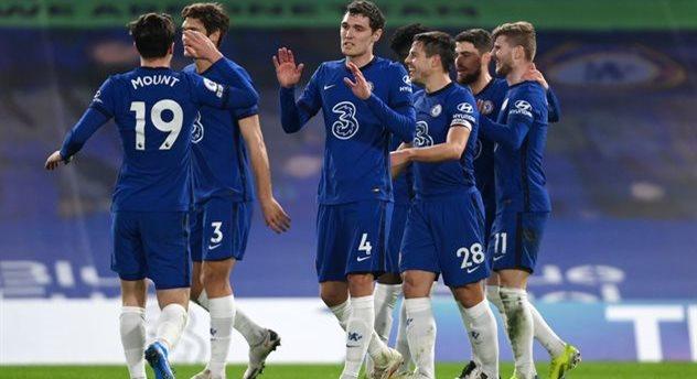Радость игроков Челси, Getty Images