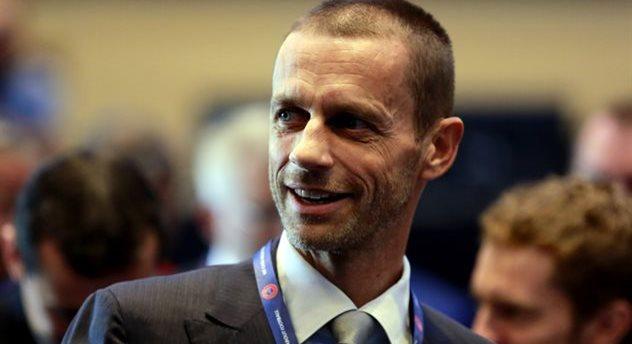 Александр Чеферин — президент УЕФА, Getty Images