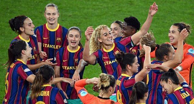 Футболистки Барселоны, Getty Images