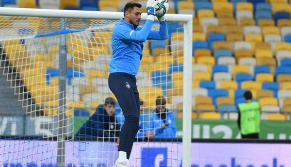 Георгий Бущан, фото ФК Динамо Киев