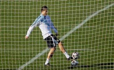 Роналду вновь готов играть, фото АР